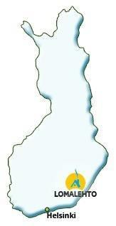 Lomalehto kartalla