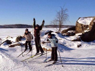 hiihto-skiing-lomalehto